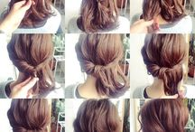 How to&&&up hair