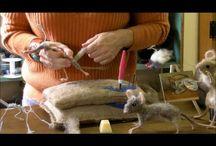 Мышки на каркассе