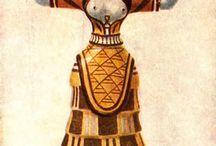 Minoan inspired style