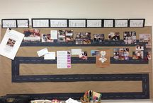 Learning Journey Walls / Ideas for documenting learning journeys in the classroom.