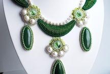 Seed beads jewellery