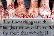 Sisterhood, Sacred Circles & Friendship / Women gathering together in Community.  Sisterhood.  Sacred Circles.  Support.  Connection.  Friendship.  Love.