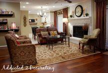 Living Room Set-Ups