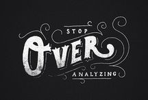 typography / by lori mill