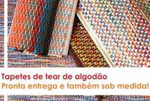 TAPETES ARTESANAIS DE TEAR