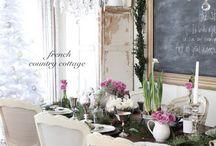 Dinner Room - dinner tables