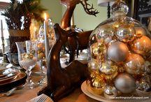Christmas Holiday Table Decoration Ideas