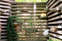 Outdoor Showers / There's nothing quite like an outdoor oasis to primp and pamper yourself.