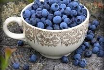 Blueberries/blackberries