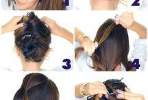 wedding hair for medium hair half up