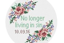 Cross stitch - border