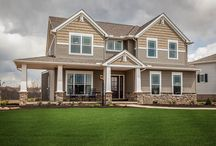 The Charleston Exterior / Visit http://waynehomes.com/plan/charleston for more information about one of our most popular floorplans!  / by Wayne Homes