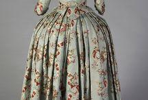 Rococo fashion (1720's - 1790's)