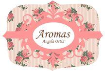 Aromas Angela Ortiz / Tudo para deixar seu banho e sua casa muito cheirosossss!!!!!