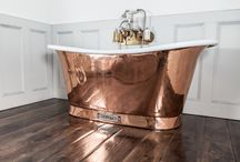 Chadder Copper baths and Basins. / Chadder & Co's range of Copper baths and Basins. All hand made and finished in the UK.