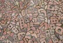 I have some broken bricks...