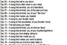 song activities