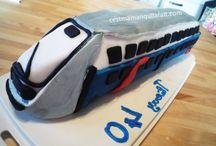 Gateau train