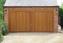 Timber Up & Over Garage Doors / Up and over garage doors are one of the most common garage door types we sell. They fall into two main categories depending on types of operating mechanism they use – canopy or retractable. This is how the garage door panel opens and closes and both mechanisms have their uses in different applications.