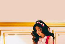 Red velvet wallpaper