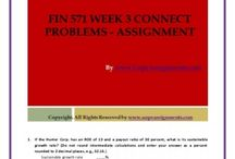 FIN 571 Week 3 Connect Problems