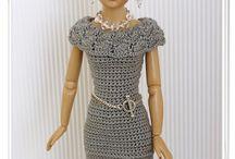 roupa barbie croché