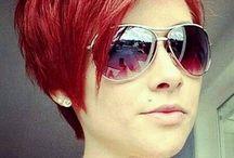Funky colour hair