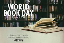 WORLD BOOK DAY, 23 APRIL 2017