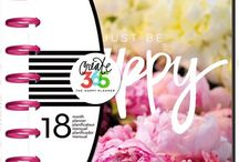 Happy planner Peony Floral