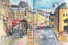 Sketching Architecture / Sketching buildings, architecture and street scenes