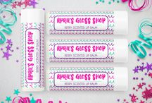 Lip Balm Labels Printable Stickers