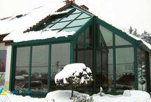 Ogród zimowy - Michałowice / Ogrody zimowe, oranżerie , werandy przeszklenia wintergarden, conservatory  www.alpinadesign.pl