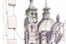 Αρχιτεκτονικά σκίτσα