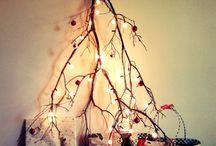 Arboles de Navidad  diferentes