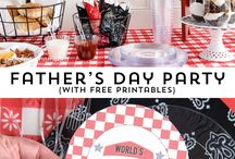 father day bbq / by Nicole Anderson-Richards