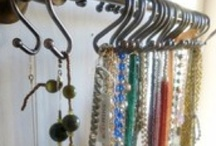 Necklace Organiser / Somewhere to hang necklaces