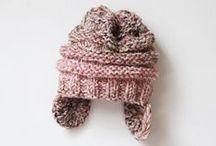 pletená čepice návod