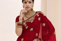 Bridal Designer Wedding Sarees Online / Jugniji.com : A huge sparkling collection of Indian ethnic wear in our attention-grabbing online showroom whose variety is growing every month. ## http://goo.gl/Vosa69