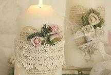 Decorazioni candele