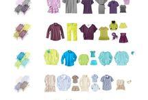 Zestawy kolorystyczne ubran