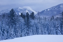 Winter Wonderland / Winter in the Adirondacks is beautiful and inspiring, if a bit cold.