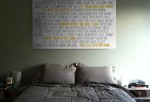 For the Bedroom / Canvas Typography Word Art or Photo & Word or custom pillows for the bedroom using your photo and words customized the way you want. / by Geezees Canvas Art