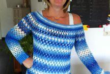 Zelf gemaakte trui