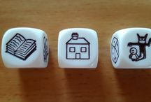 Story Cube Challenge / Weekly writing prompts using Rory's Story Cubes