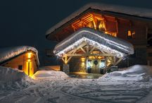Skiing in France - Luxury Chalets / Beautiful luxury ski chalets in France. Rent one for a dream winter ski vacation.