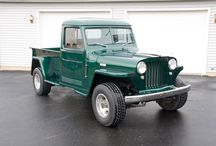Willys Truck / 1946-1964 Willys Truck / by Kaiser Willys Auto Supply