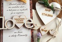 Svatební oznameni