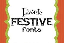 Fonts / by Karen Davidson