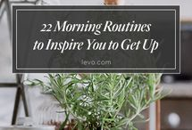 Morning Routines / by Brocantehome - Vintage Lifestyle