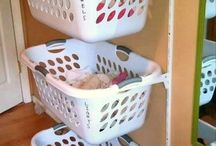 Laundry room organization / by Michelle Endsley
